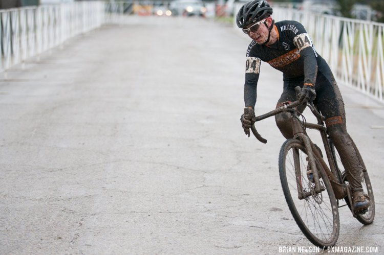 Andrew Bailey (Milligan College). © Brian Nelson / Cyclocross Magazine