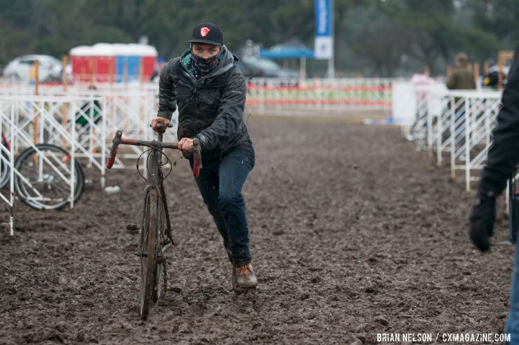 Many were plauged by drivetrain issues caused by the Texas mud - especially guys in the pits. © Brian Nelson