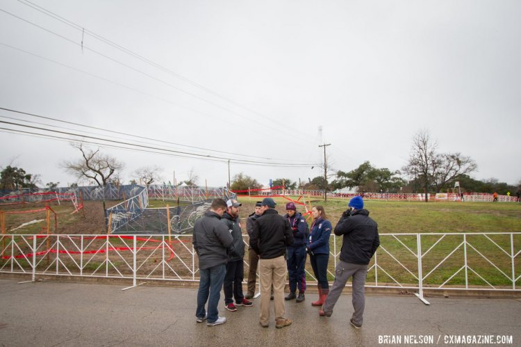 USAC Officials scrambled to keep cancellation from becoming a reality. © Brian Nelson