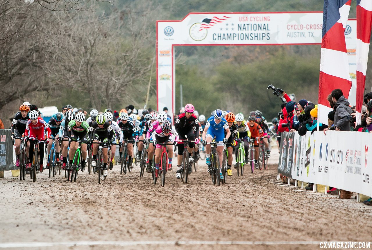 the-start-of-the-elite-womens-2015-cyclocross-national-championship-cyclocross-magazine