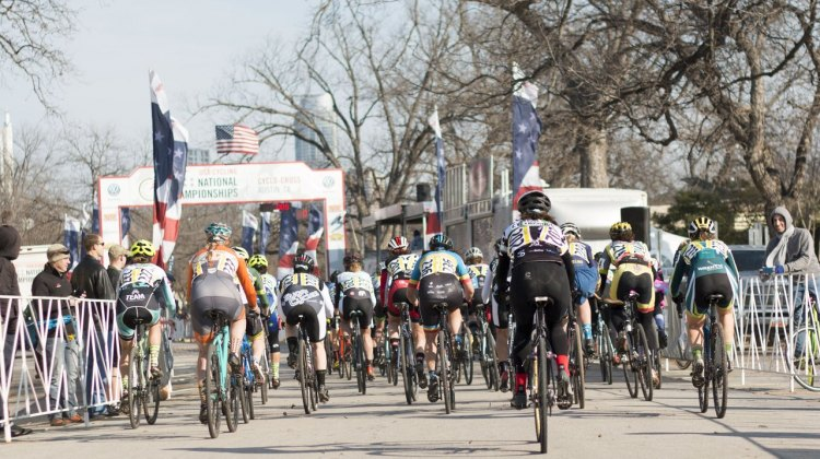 2015 Cyclocross National Championships, Singlespeed Women. © Cyclocross Magazine