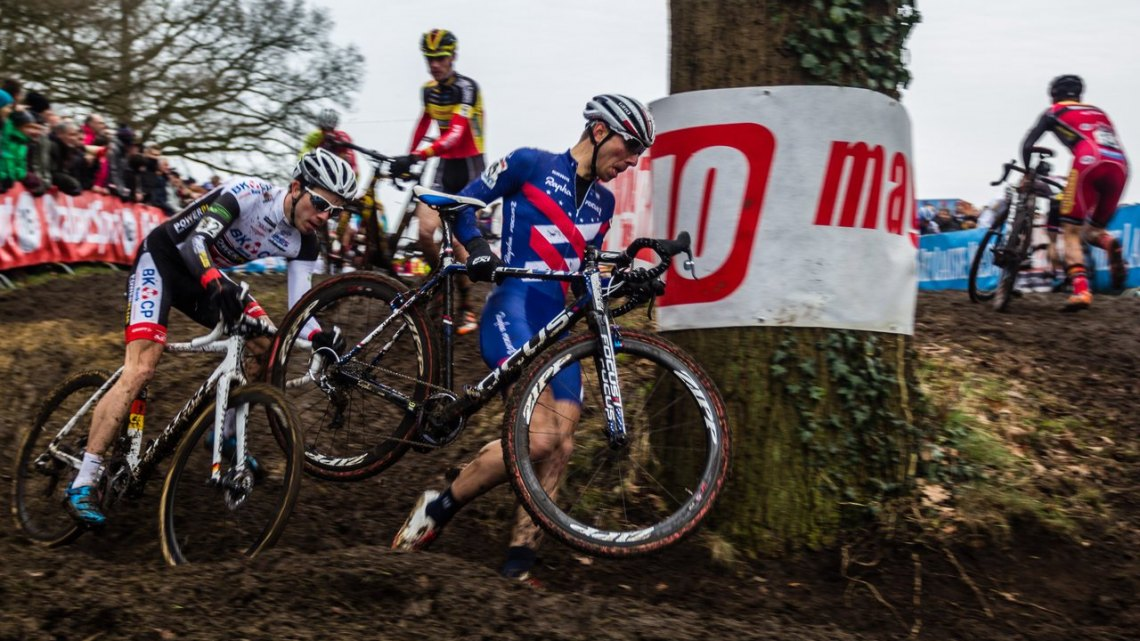 Powers had great showing for a top 15 today, but more impressively, he took a top ten in the overall standings with his great consistency. © Thomas van Bracht / Cyclocross Magazine