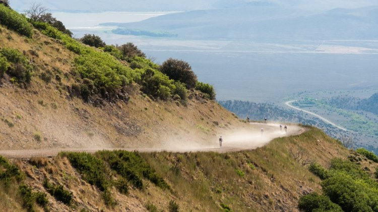The Crusher in the Tushar is known for its sweeping views and challenging gravel descents. photo: Christopher See