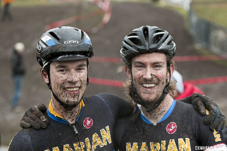 Dillman had a great ride with the Marian team to take first. © Cyclocross Magazine