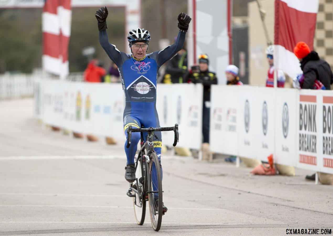 ee2b6b3bfe9395 Paul Curley wins his 26th USA Cycling National Championship with the 60-64  Masters title