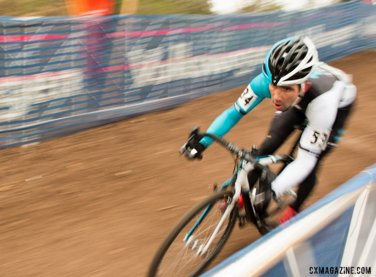 Defending champion Tim Faia had a tough race to finish 20th. © Cyclocross Magazine