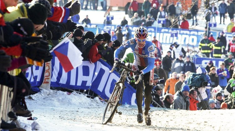 2010 Cyclocross World Championships, Tabor, Czech Republic. © Joe Sales / Cyclocross Magazine