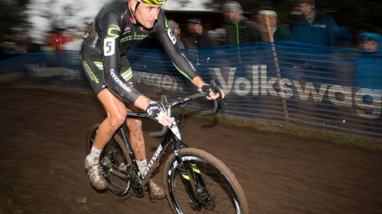 Ryan Trebon had a rough season but returned from injury to start strong but fade to 11th. © Cyclocross Magazine