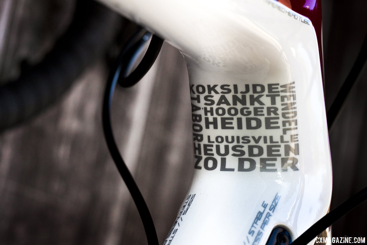 78e137a0fe3 Hyde's race bike is based on this Shimano 105-equipped 2015 Focus Mares  cyclocross bike