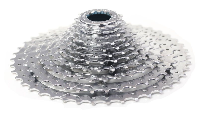 For the 11-speed 11-42t cassette, weight is close to 470g with a price tag around $220.