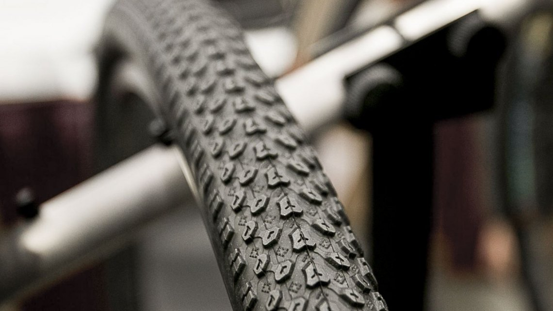 Panaracer Comet Hard Pack 700x38c gravel / cyclocross tires. © Cyclocross Magazine