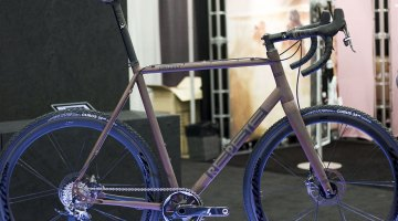 The REPETE Cyclocross Bike at NAHBS 2015. © Cyclocross Magazine.