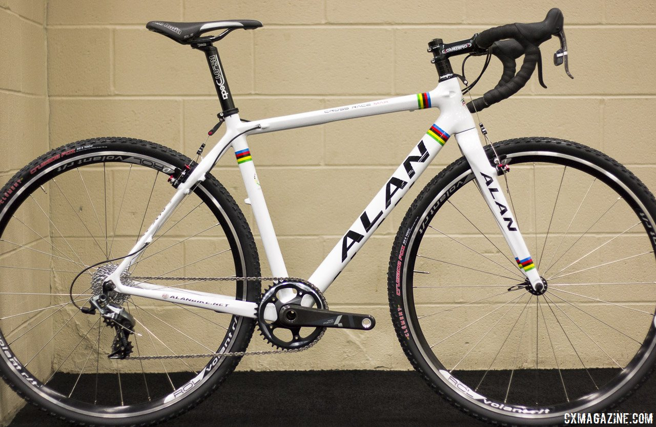 the alan cross max race is a carbon monocoque frameset and is a rare frameset