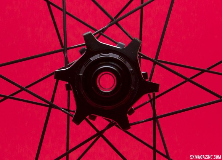 See-thru-axle options on the Zipp's new 77/177 hubs. © Cyclocross Magazine