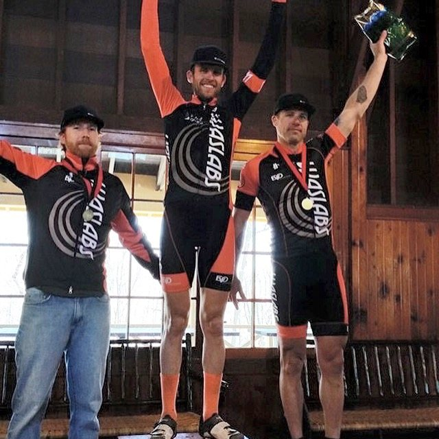 WASlab getting a clean sweep of the podium at the Lowell 50. © Adam York