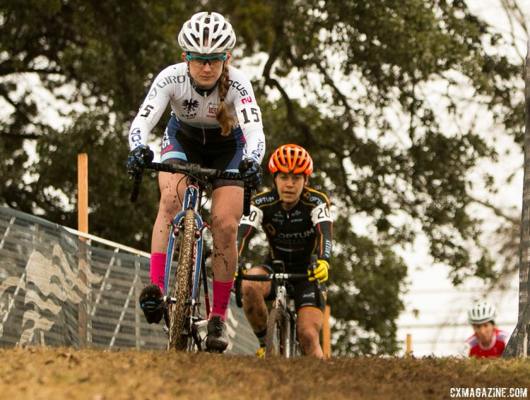 Ellen Noble riding to the U23 title in Austin. © Cyclocross Magazine