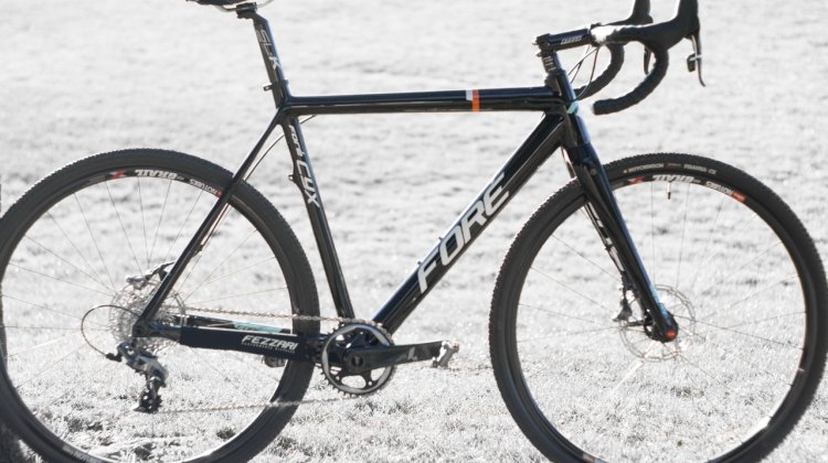 The Fezzari Foré Cyx, offered at a wide range of price points. © Cyclocross Magazine