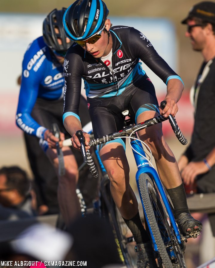 lance-haidet-raleigh-clement-impressed-in-his-first-pro-race-for-the-2015-sea-otter-cyclocross-race-mike-albright-cyclocross-magazine