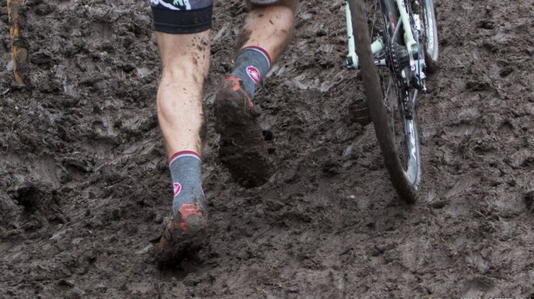Don't get bogged down by running next season. © Cyclocross Magazine