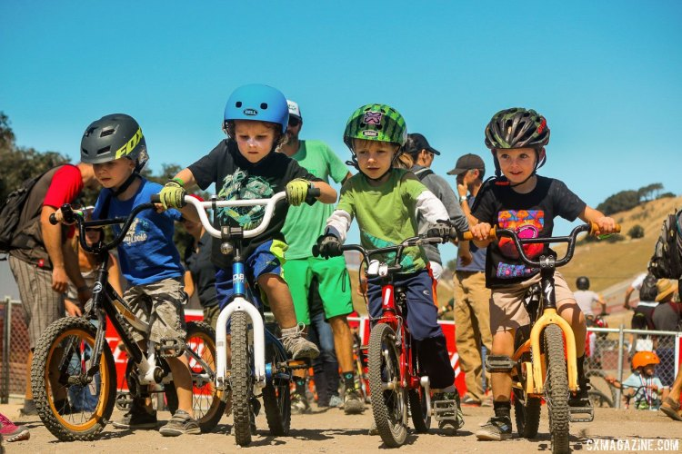Sea Otter offered daily free dirt races each morning for kids of all ages. © Cyclocross Magazine
