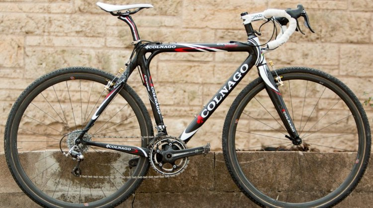 Tove Shere's 2015 Nationals-Winning Colnago Cross Prestige Cyclocross Bike. © Cyclocross Magazine
