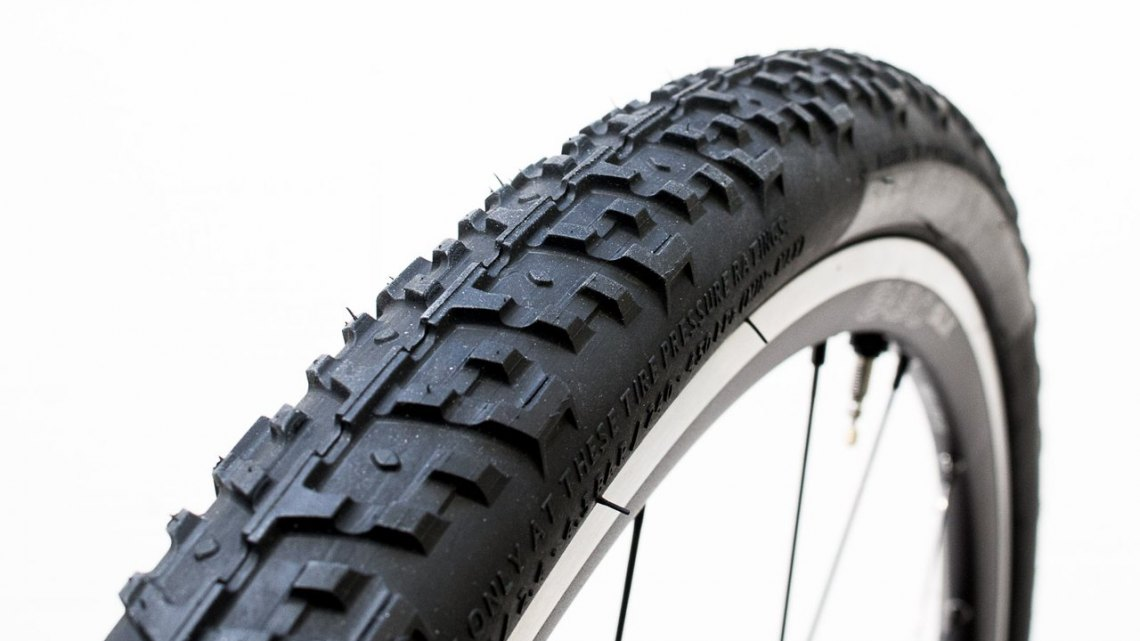 WTB's new Nano TCS 40c tubeless gravel tire holds air well on Road Tubeless rims. © Cyclocross Magazine
