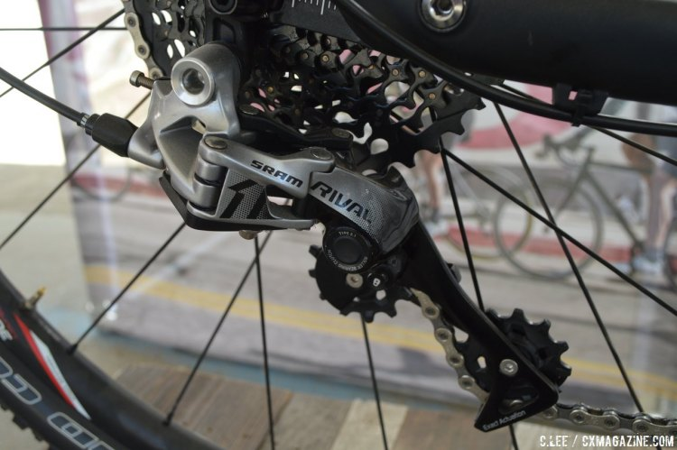 The Rival1 is SRAM's newest addition to the singlering lineup. © Clifford Lee/Cyclocross Magazine