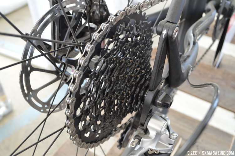 SRAM is now marketing their single chainring drivetrains toward gravel and road markets, doing away with the CX branding. © Clifford Lee/Cyclocross Magazine