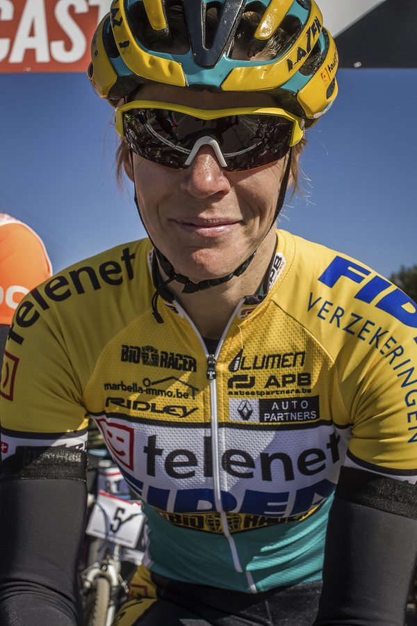 Ellen Van Loy, kitted up and ready at the start. © Jeremy Allen