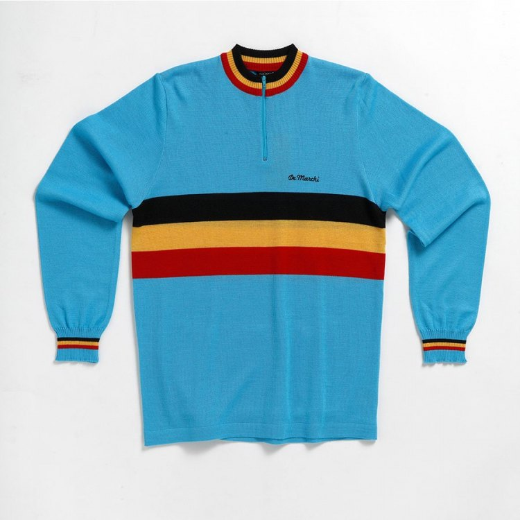 The De Marchi Heritage Jersey. © Cyclocross Magazine