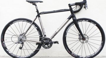 The Foundry Overland Titanium Cyclocross Bike. © Cyclocross Magazine
