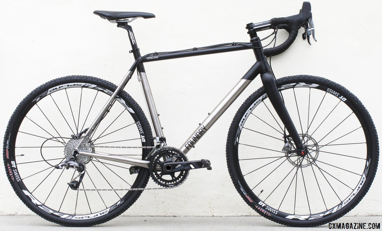 Full Review - Foundry Titanium Overland Cyclocross Bike - Cyclocross ...