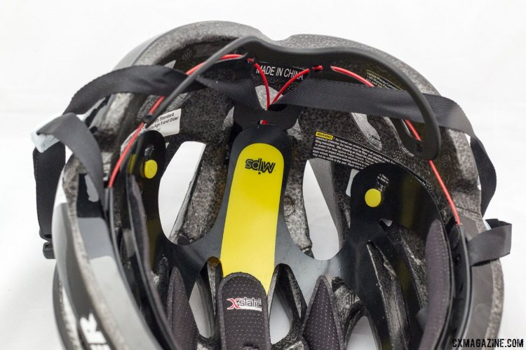 The Lazer Helium cycling helmet, now with MIPS, just one of the many changes the model has seen over the years. © Cyclocross Magazine