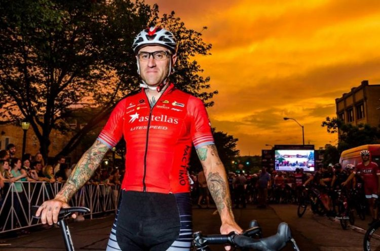 Adam Myerson at the Athens Twilight Criterium. Photo: Dave Gill.
