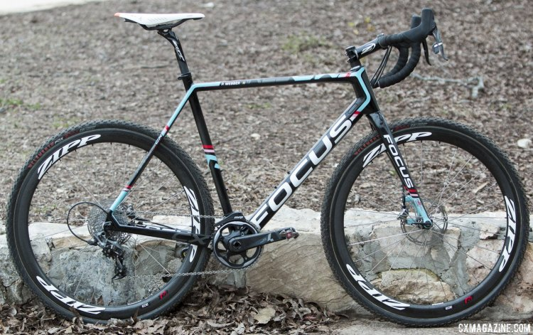 Pete Webber's 2015 Cyclocross Nationals winning Focus Mares. © Cyclocross Magazine