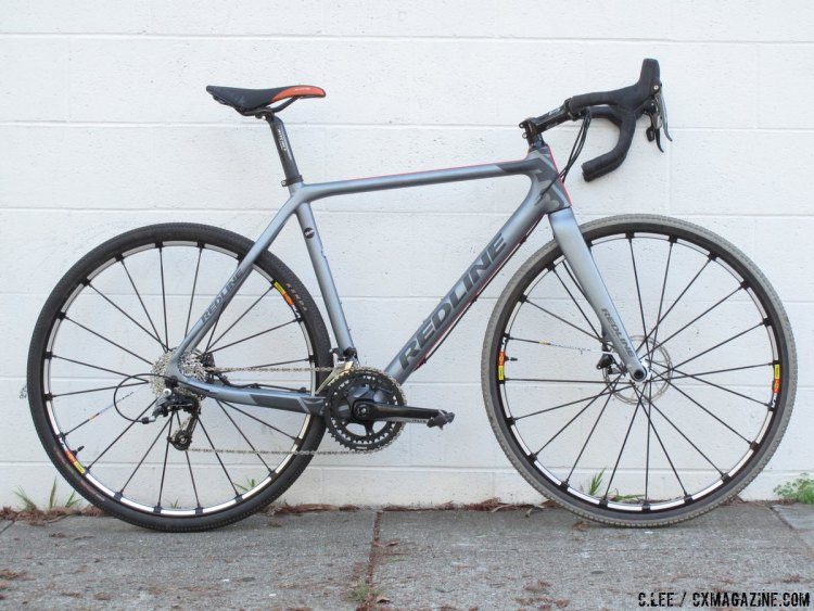 Redline's Conquest Flight Cyclocross Bike. © Clifford Lee/Cyclocross Magazine.