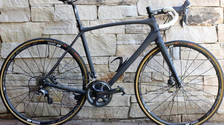 Ridley's newest bike, the X-Trail, as spotted at Press Camp 2015. © A. Reimann / Cyclocross Magazine