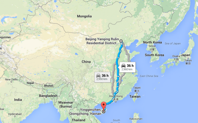 The two C1 races in China for 2015 span different sections of the country, and will be separated by a half week.