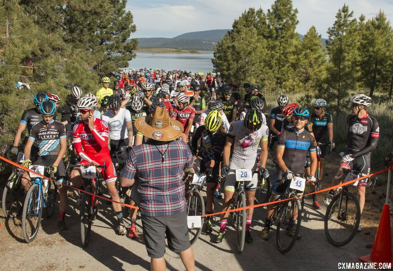 Racers may miss the start and post-race plunge at shores of Lake Davis, but won't have to go anywhere for the post-race party. © Cyclocross Magazine