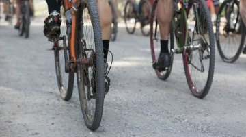 Bikes and tires varied, but bigger-volume tires were key at the 2015 Lost and Found gravel race. © Cyclocross Magazine