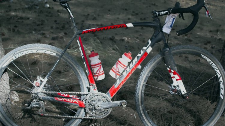 Tobin Ortenblad's Specialized Crux at the 2015 Lost and Found. © Cyclocross Magazine
