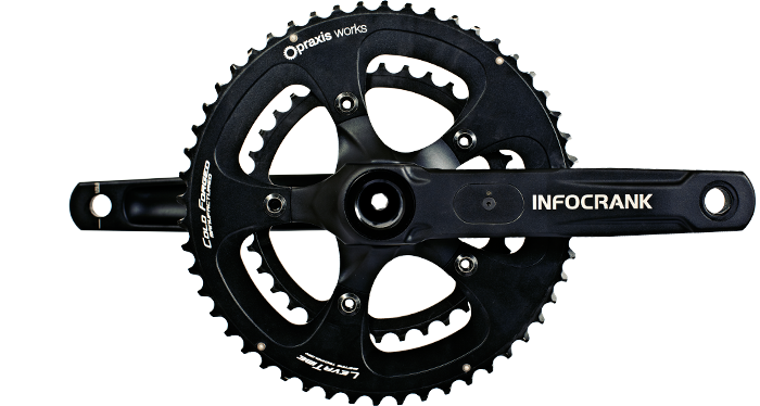 Verge Cycling Infocrank Power Meter. Photo by Verge Cycling
