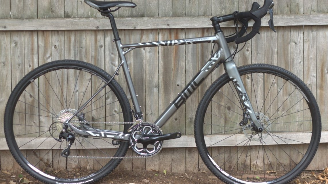 BMC's 2016 aluminum cyclocross bike, the CrossMachine CXA01. © Andrew Reimann / Cyclocross Magazine