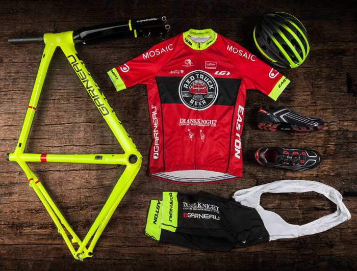 Just some of the goodies that the new Canadian team will be racing with.