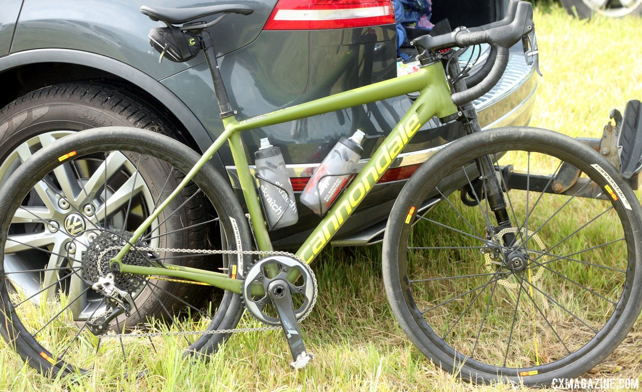 850a5f6391e Tim Johnson's Cannondale Slate at the JAM Fund Grand Fundo. © Andrew Reimann