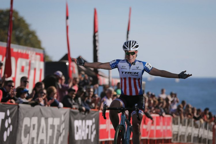 Compton wins day two of the Gran Prix of Gloucester. Photo by Meg McMahon