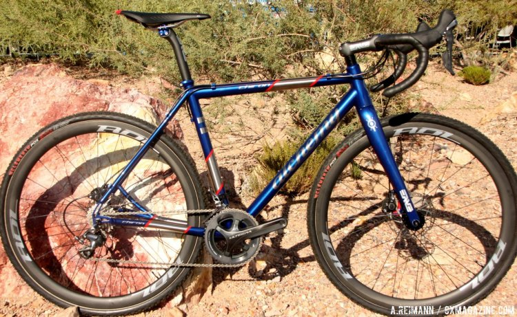 Outdoor Demo Bikes at 2015 InterBike, Day One. © Andrew Reimann / Cyclocross Magazine