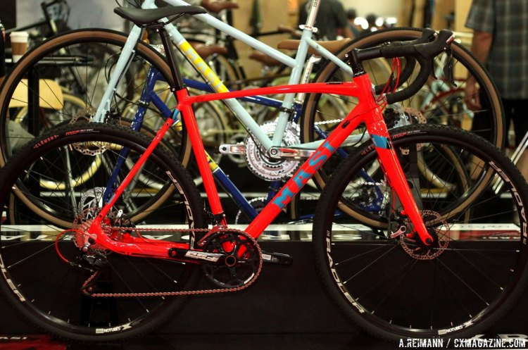 Masi revealed two of the many new cyclocross bikes that will be a part of their 2016 lineup at Interbike 2015. © Andrew Reimann / Cyclocross Magazine