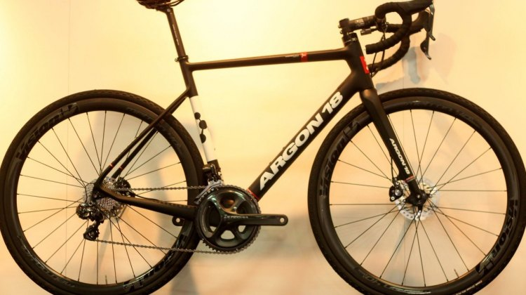 Argon 18 RoadX Bike and Interbike 2015. © A. Reimann / Cyclocross Magazine