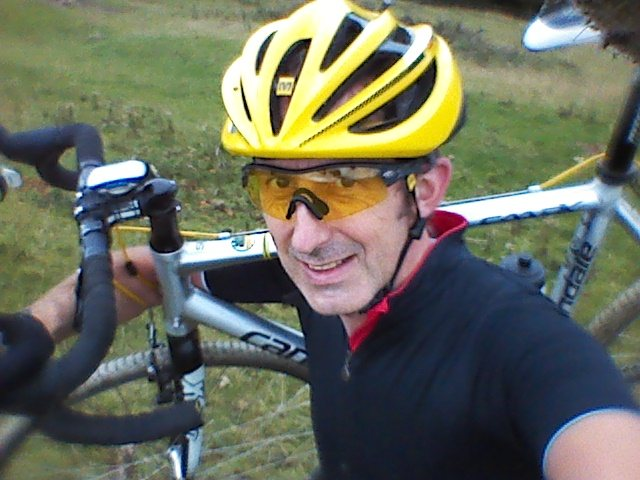 We'll check in to see if this face is still full of smiles halfway through 3 Peaks.. © Andy Ward